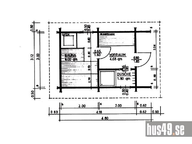 Hus49 ab schwedenhaus fertighaus das original aus for Hausbau raumplanung